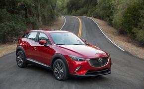 Обои Mazda, мазда, кроссовер, CX-3