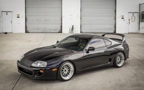 Картинка Toyota, Black, Supra