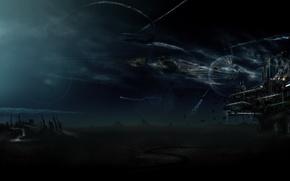 Картинка база, Нападение, планета