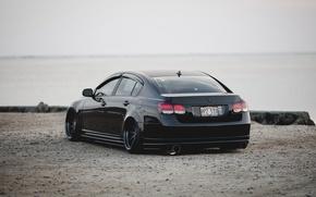 Картинка тюнинг, лексус, stance, Lexus GS 350