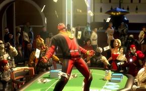 Картинка костюм, party, Deadpool, наемник, Marvel Comics, Wade Wilson