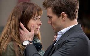 Картинка Dakota Johnson, Jamie Dornan, Пятьдесят оттенков серого, Fifty Shades of Grey, Christian Grey, Anastasia Steele