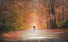 Картинка осень, парк, Jeff Rowland