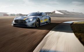 Картинка Mercedes, мерседес, AMG, GT3, амг, 2015