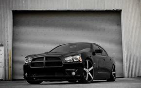 Картинка Dodge, Black, Charger