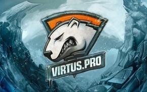 Картинка холод, снег, лёд, logo, art, csgo, cs go, virtus pro, virtuspro, виртуса