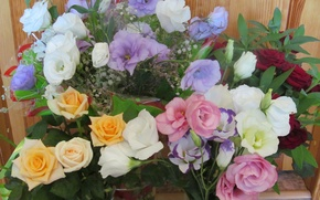 Картинка розы, Цветы, эустома
