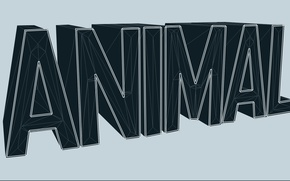 Картинка Минимализм, Текст, Animal, MaxArt