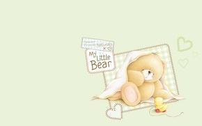 Картинка арт, мишка, детская, Forever Friends Deckchair bear