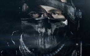 Картинка Лицо, Солдат, Маска, Activision, Infinity Ward, Call of Duty: Ghosts, Зов долга: Призраки