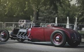 Картинка hot, кабриолет, ford, форд, cabrio, род, хот, rod
