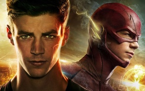 Картинка Barry Allen, The flash, Grant Gustin, Грант Гастин