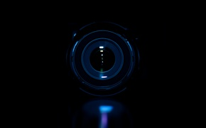 Картинка макро, темнота, фотография, фотоаппарат, объектив, macro