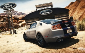 Картинка Mustang, Ford, Need for Speed, nfs, 2013, Rivals, 2015, NFSR, нфс