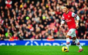 Картинка Спорт, Футбол, Football, Sport, Mesut Özil, Arsenal Football Club, Футбольный клуб «Арсенал», Месут Озиль
