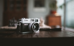 Картинка фон, камера, Canon, Canonet QL17