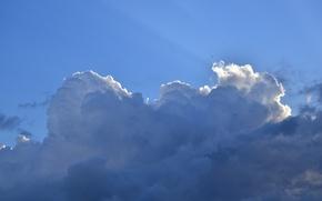 Картинка небо, облака, лучи, Кисловодск