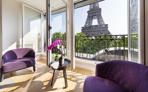 Картинка Paris, France, Posh Apartment in Paris