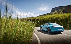 Картинка порше, Cayman, кайман, Porsche, 718, купе