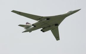Картинка airplane, aviation, Tupolev Tu-160