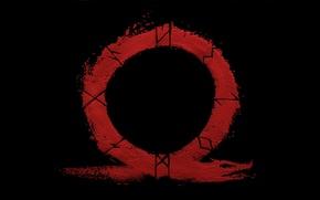 Картинка logo, game, blizzard, Kratos, God of War, Spartan, dragon, Jormungand, PlayStation, SMS, PlayStation 4, God …