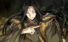 Картинка магия, колдовство, шаман, Kajiri Kamui Kagura, Madara Yakou