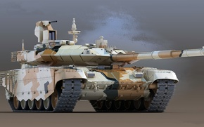 Картинка основной боевой танк, Т-90МС, Прорыв, Уралвагонзавод, Экспортная версия
