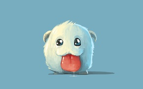 Картинка милашка, League of Legends, Poro, поро