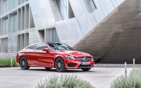 Обои купе, Mercedes-Benz, мерседес, Coupe, C-Class, C205