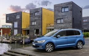 Обои Volkswagen, Touran, фольксваген, 2015, туран