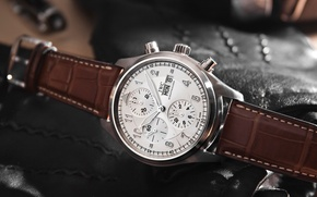 Картинка brown, watch, IWC