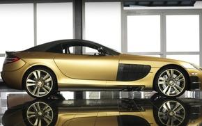 Обои Renovatio, Mansory Mercedes-Benz, McLaren SLR