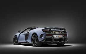 Картинка фон, McLaren, суперкар, макларен, MSO, 675LT
