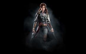 Картинка девушка, арт, ассасин, Assassin's Creed Unity, Элиза