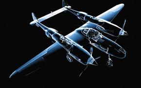 Картинка прозрачный, модель, Самолет