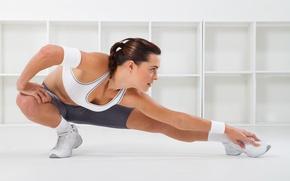 Картинка fitness, flexibility, sportswear