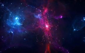 Картинка туманность, пространство, созвездие, nebula