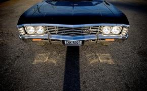 Картинка Chevrolet, Supernatural, Сверхъестественное, Chevy, Sam, Dean, Импала, Impala, Шевролет, Шеви, Impala 1967