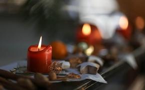 Картинка фон, праздник, свеча