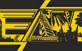 Картинка yellow, awesome, good, fun, britain, cool, triangle, zero, EDM, mayami