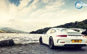 Картинка Авто, 911, Porsche, Зад, GT3, Спорткар, Rear, Top, Gear, Топ, Гир