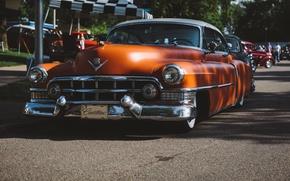 Картинка Cadillac, классика, передок, Series 62
