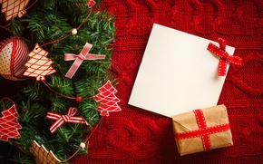 Картинка украшения, ленты, праздник, подарок, Рождество, Happy New Year, Christmas, box, Merry Christmas, holiday, decoration, Christmas …