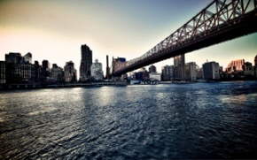Картинка New York, NYC, Queensborobridge