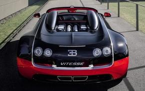Обои bugatti, veyron, grand sport, roadster, vitesse