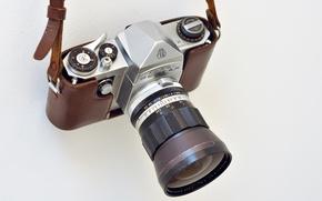 Картинка camera, lens, Pentax