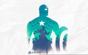 Картинка арт, капитан америка, мстители