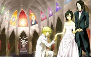 Картинка Аниме, вампиры, Соломон, Кровь +, Сая, Хаджи, любовь-морковь