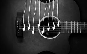 Картинка ipod, music, guitar, sound, headphones, notes