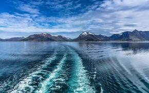 Картинка море, горы, Норвегия, Norway, Lofoten, Norvège